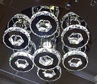 Хрустальная светодиодная люстра 25 Вт DW-8711
