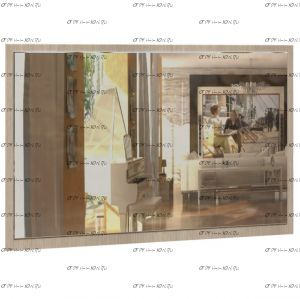 Зеркало Саломея ЗК-1 (Спальня) 80Х60