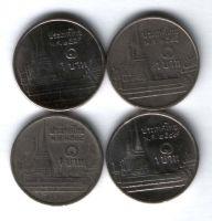 Набор монет Таиланд 4 шт.