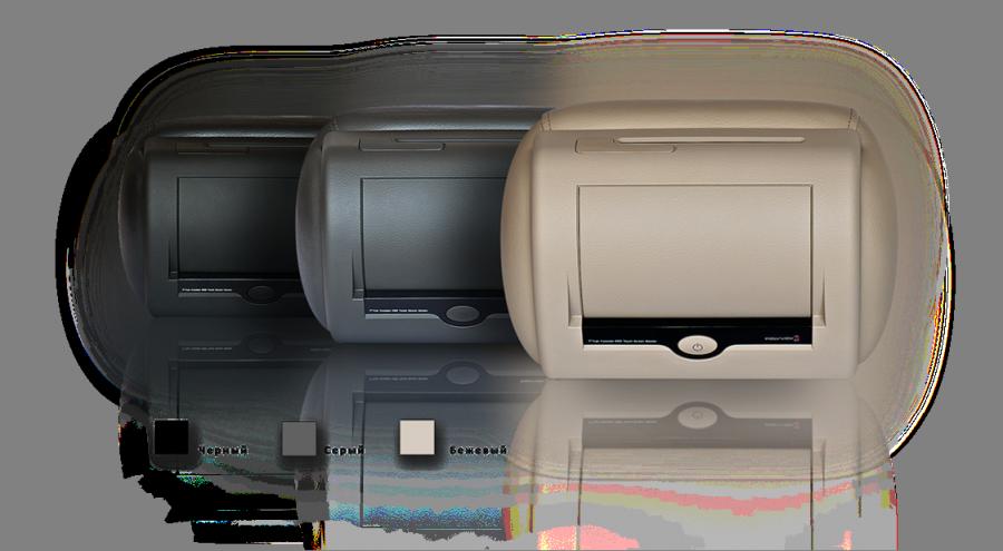 Подголовник Polyvox PAC-10 (черный) без электронного оборудования для парной установки с POLYVOX PAV-D10 или POLYVOX PAV-T10