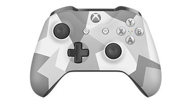 Microsoft  Xbox One S Wireless Controller Winter Forces Special Edition (for windows)