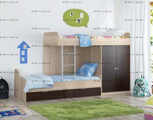 Кровать двухъярусная Дельта 18.04.01