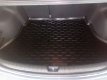Коврик (поддон) в багажник, Aileron, полиуретан на седан