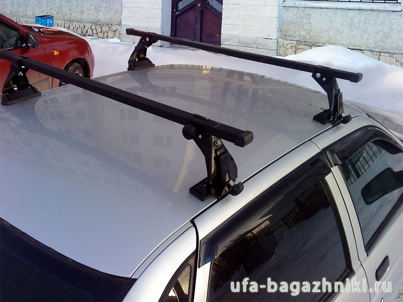 Багажник на крышу ВАЗ 2110, 2112 Атлант (Россия) - стальные дуги