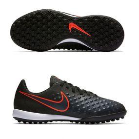 Детские шиповки-сороконожки Nike Magista Opus II TF чёрные