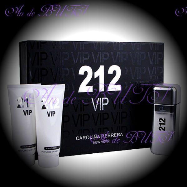 Большой набор Carolina Herrera 212 VIP Men 3 в 1