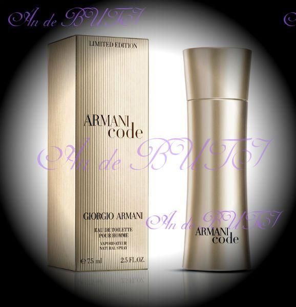 Giorgio Armani Armani Code Golden Edition 75 ml edt