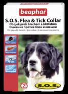 Beaphar Ошейник S.O.S. от блох и клещей для собак