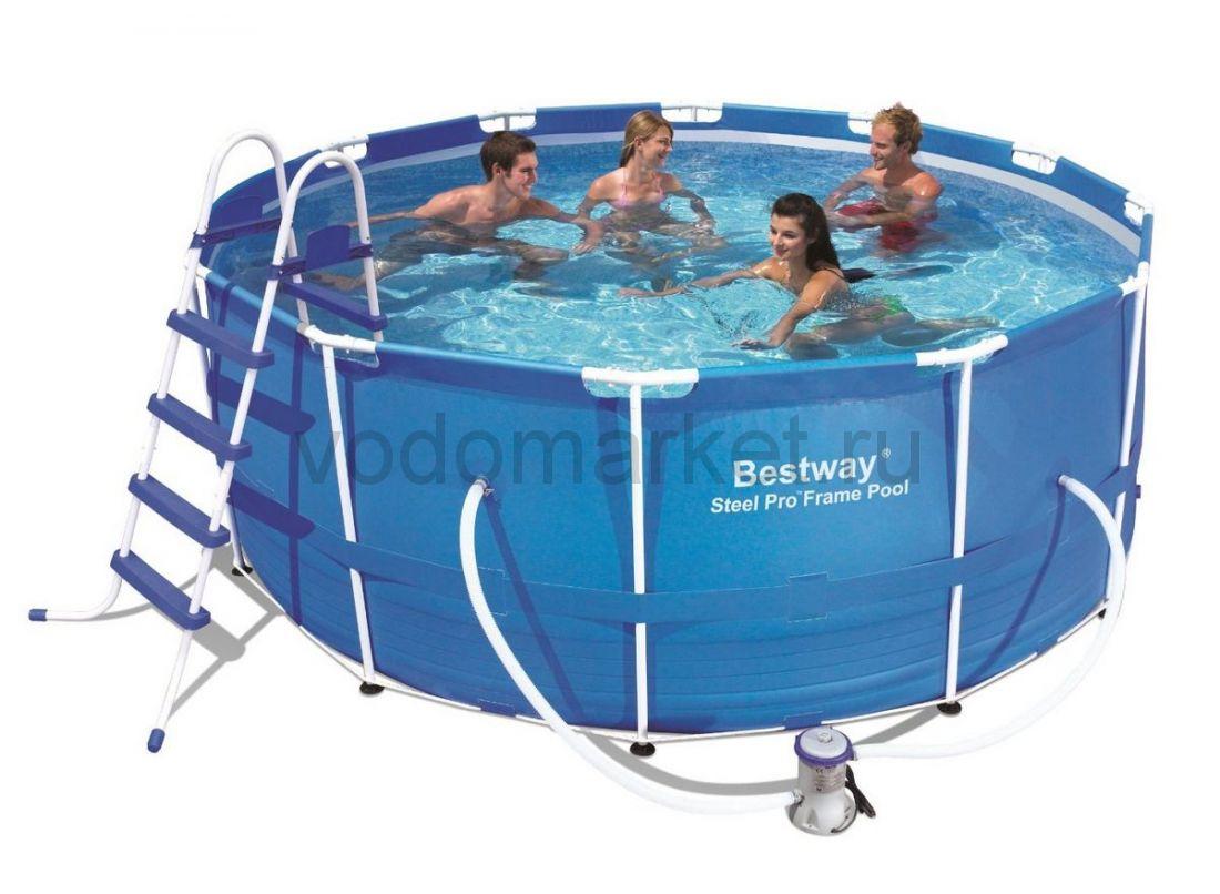 366х122см (56420) Bestway каркасный бассейн