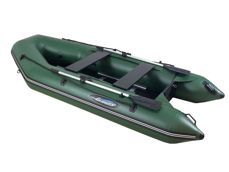 Моторно-гребная лодка ПВХ GLADIATOR A 280 ТК