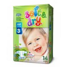 Helen Harper  Детские подгузники Soft Dry midi (4-9 кг) 14 шт