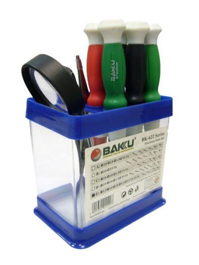 Набор отверток для ремонта электроники BAKU-622