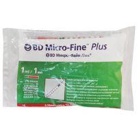 Шприцы инсулиновые BD Micro-Fine Plus U-100