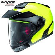 Шлем Nolan N40.5 Gt Hi-Visibility N-com, Желтый