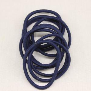 `Резинка для волос бесшовная, диаметр 50 мм, цвет 07 темно-синий