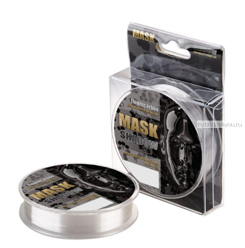 Леска флюорокарбон Akkoi Mask Shadow 30 м