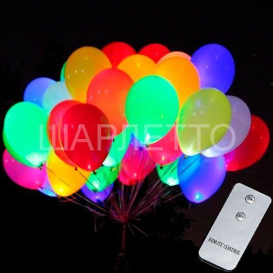 Светящиеся шары 4D Многоцветный
