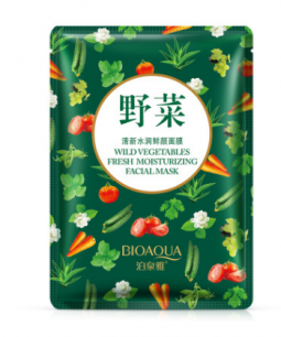 """Увлажняющая грязевая маска """" BIOAQUA """" с экстрактами овощей.(6782)"""