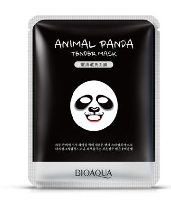 Тканевая маска для лица «BIOAQUA»  «Панда» -смягчающая.(2256)