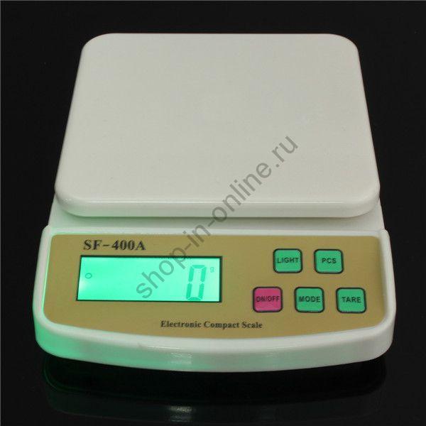 Весы кухонные с подсветкой до 10 кг Household Scales
