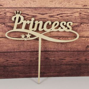 "`Заготовка  топпер ""Princess"", 15х15 см, фанера 3 мм"