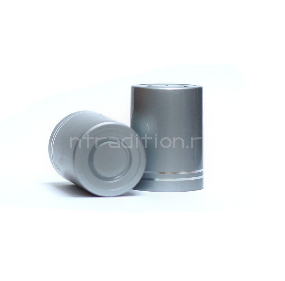 Колпачок с дозатором Гуала - серебро 47 мм (10 шт.)