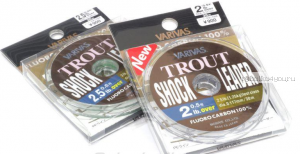 Леска флюорокарбон Varivas Trout Shock Leader Fluoro 30 м