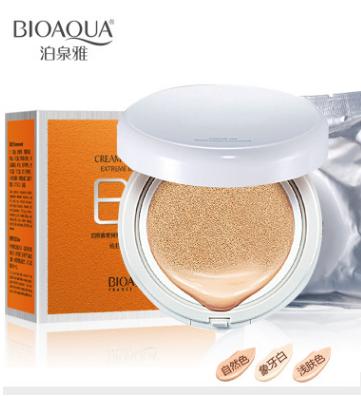 BB Cushion Cream -крем нового поколения «BIOAQUA» с запасным блоком.(9910)