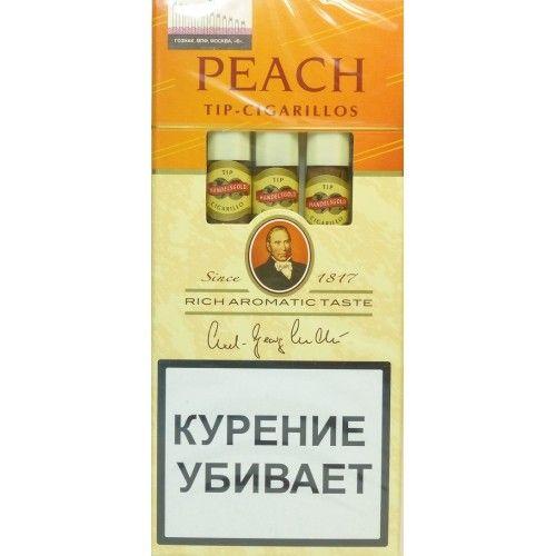 Сигариллы Handelsgold Peach Tip-Cigarillos