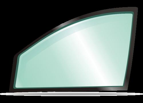 Боковое правое стекло HYUNDAI SONATA седан 1988-1993