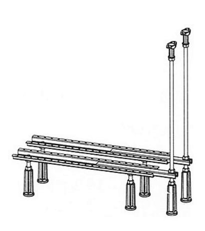 Ножки Mauersberger для ванны до 180x80 5302000003