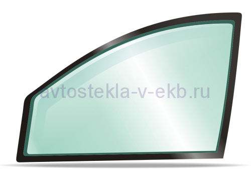 Боковое левое стекло VOLKSWAGEN POLO 10.2001-2009