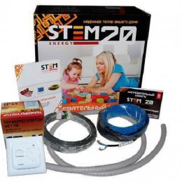 Комплект греющий кабель с терморегулятором  длина  110 м. 2200/20