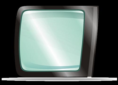 Заднее левое стекло RENAULT KANGOO II 2007-