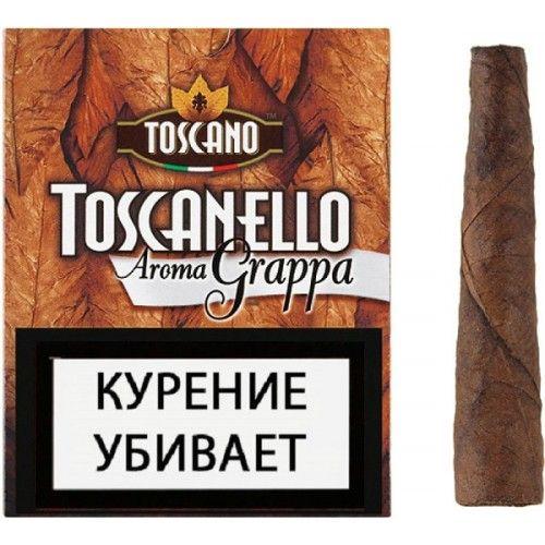Сигариллы Toscano Toscanello Aroma Grappa