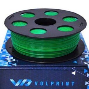 ABS пластик VolPrint 1,75мм зеленый, 1кг
