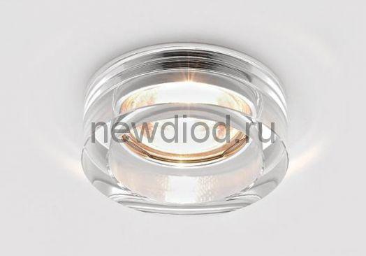 Точечный Светильник OREOL Crystal 6050 90/60mm Под Лампу MR16 Белый