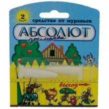Абсолют приманка от сад муравьев 2г(2 капсулы на блист.) АМПС/100