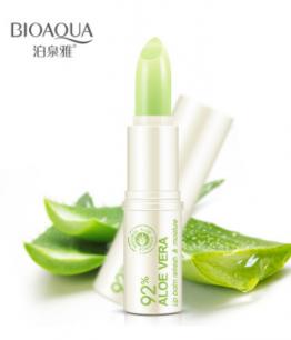 Увлажняющий бальзам для губ «BIOAQUA» с Алоэ Вера 92%.(3864)
