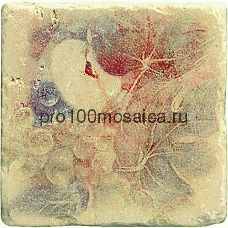 1511014-12-2212-2 (d) Cir Marble Age Ins.Botticino S/3 Beige (Яблоко+Виноград) 10х10 см (CIR)