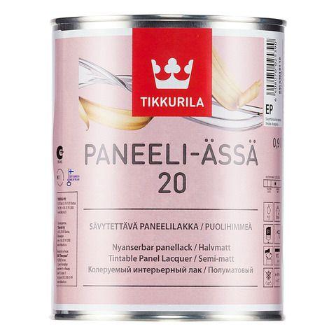 Полуматовый лак для деревянных панелей Paneeli Assa 20