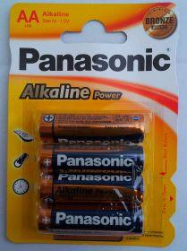 Panasonic Alkaline Power BRONZE LR6(AA) BL-4 /48/240/