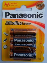 Panasonic Alkaline Power BRONZE LR6(AA) BL-4 /48/240/
