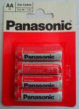 Panasonic R6(AA) Zinc Carbon BL-4 /48/240/