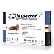 Инспектор Тотал К Капли от внешних и внутренних паразитов для кошек 1-4 кг