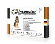 Инспектор Тотал С Капли от внешних и внутренних паразитов для собак от 25 до 40 кг