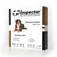 Инспектор Ошейник от внешних и внутренних паразитов для крупных собак (75 см)