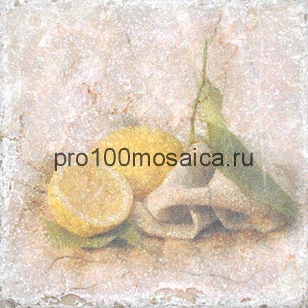 151264-12-5912-2 Cir Marble Style Inserto Tradition S/3 (Лимон) 10х10 см (CIR)