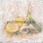 151264-12-5912-2 Cir Marble Style Inserto Tradition S/3 (Лимон) 10х10 см (CIR, Италия)