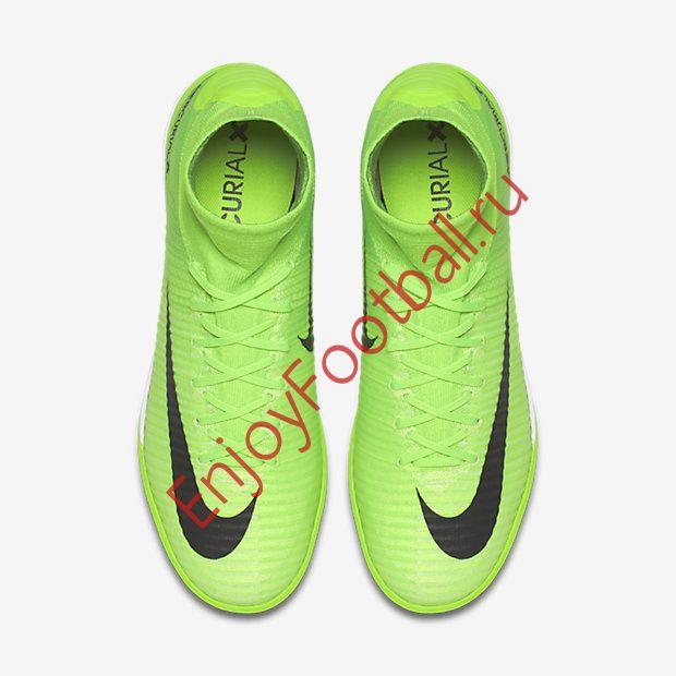 74abdbf0 ... с доставкой; Обувь для зала Nike MercurialX Proximo II DF IC 831976-305  — купить зелёные футзалки ...
